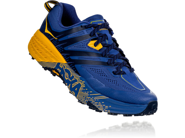 e81f9d8343 Hoka One One Speedgoat 3 Running Shoes Men galaxy blue/old gold at ...